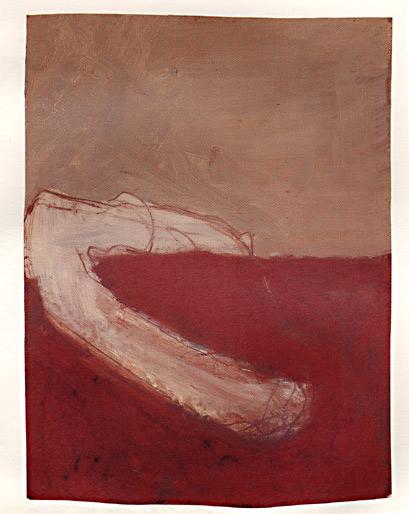 Zwischen den Elementen, 1986, Mischtechnik, 28 x 21 cm - Wolfgang Stiller
