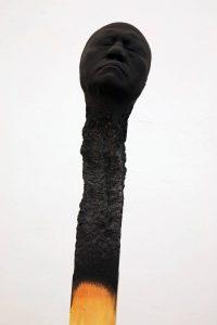 2011 Matchstickmen ca. 155-158 cm, wood,PU acrylic,gouache paint - Wolfgang Stiller