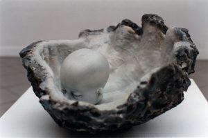 Muschel,  2002, Wachs - Wolfgang Stiller
