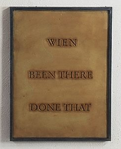 been there done that - Wien Installationsaufbau Röntgen-Kunstinstitut, Tokyo - Wolfgang Stiller