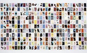 aspects of life 2004, Mischtechnik auf Farbkartenmustern, Format : variabel - Wolfgang Stiller