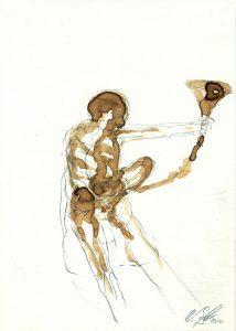 drawing - Wolfgang Stiller