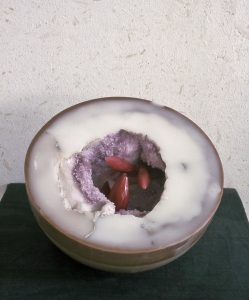Mineral 2, 2003, Wachs, 25 x 25 x 17cm - Wolfgang Stiller