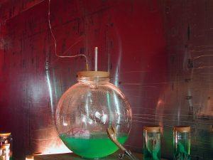 mobiles Laboratorium 1, 2003, Installationsaufbau - Wolfgang Stiller