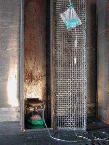 mobiles Laboratorium 4, 2003, Installationsaufbau - Wolfgang Stiller