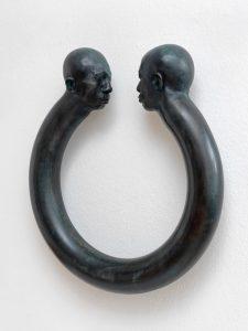 Samsara 2015, ca 95 cm Durchmesser,Bronze - Wolfgang Stiller