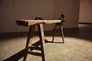 bench, 2015 Holz,PU  120 x 60 x 30 cm - Wolfgang Stiller