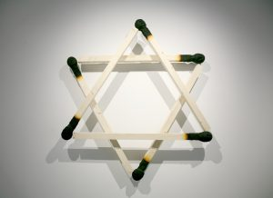 David Star , 2012 ca 250 x 250 x 40 cm ,Holz ,PU - Wolfgang Stiller